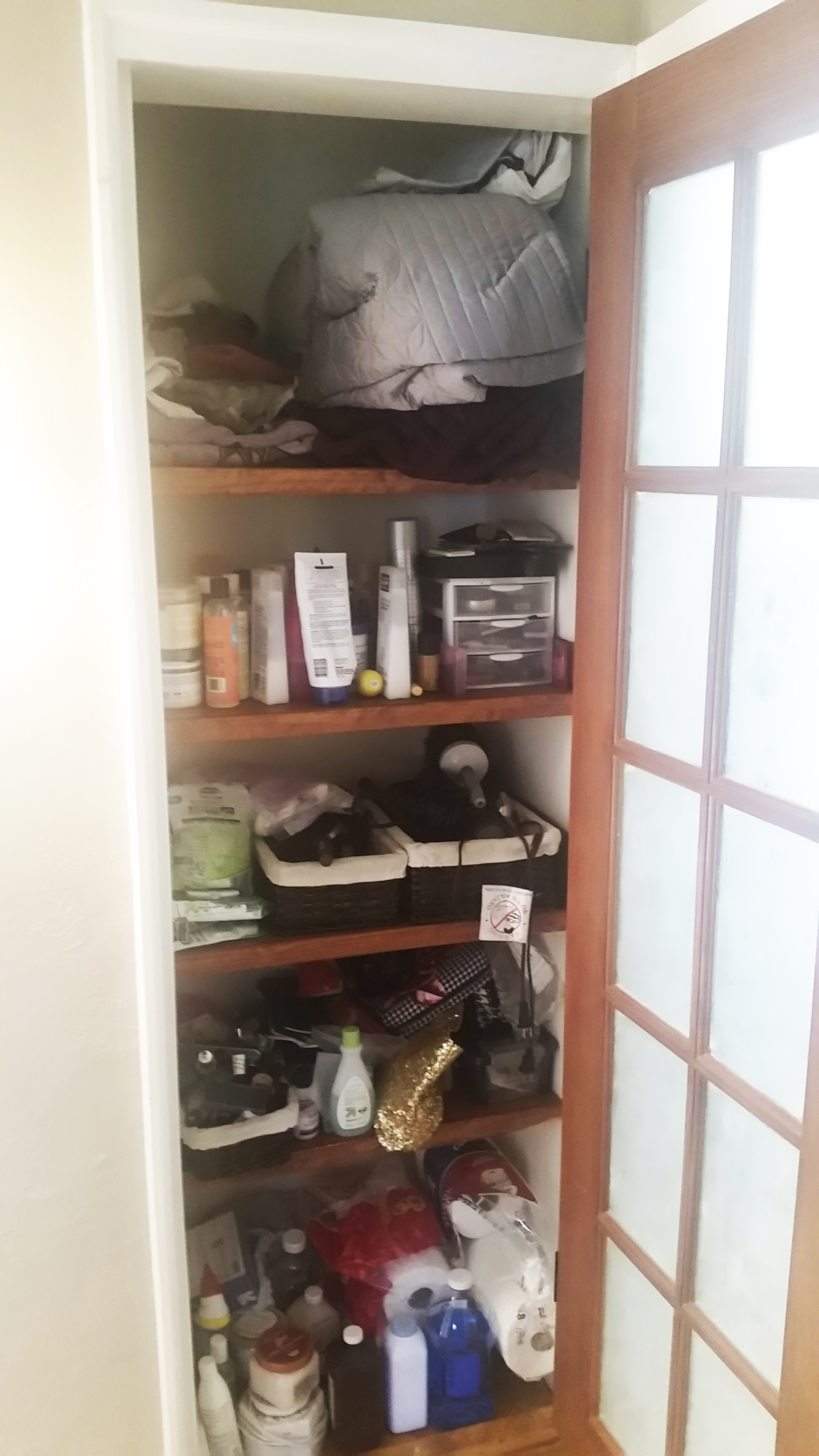 able to when fit this organization blankets pleasant all organizers linen closet said in was done
